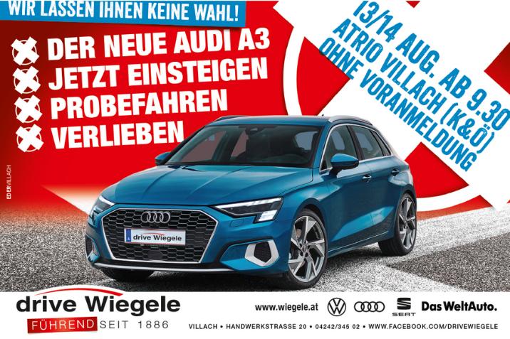 Audi A3 Probefahrtstage