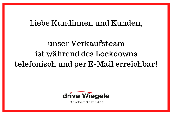Lockdown-Verkauf